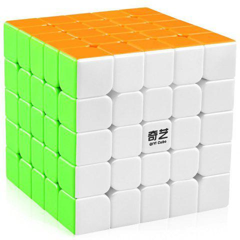 qiyi Smooth Magic Cube Puzzles Toy 5 x 5 x 5 - COLORFUL