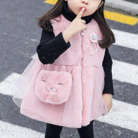 9120 Thick Girl Baby Cotton Vest Skirt - PINK 18 - 24 MONTHS