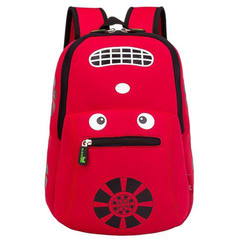NOHOO NH003 Cool Running Sac à dos pour enfants - Rouge