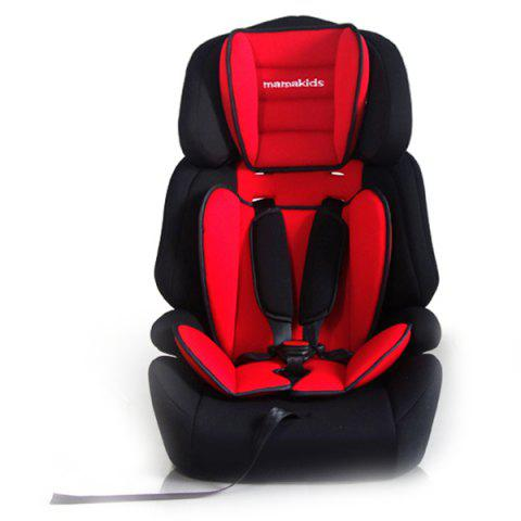Mamakids Z - 12S Car Seat for Children of 9 Months to 12 Years - RED