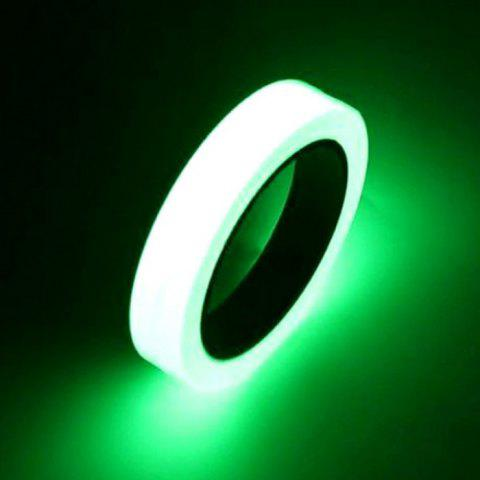 Self-adhesive Glow Night Vision Safety Home Decoration Luminous Tape - GREEN