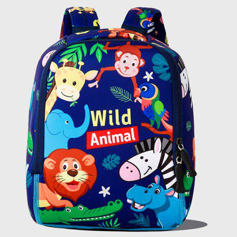 TONGCHANG NT20005 Anti-lost Backpack Cartoon for 3 - 6 Years Kid - BLUE