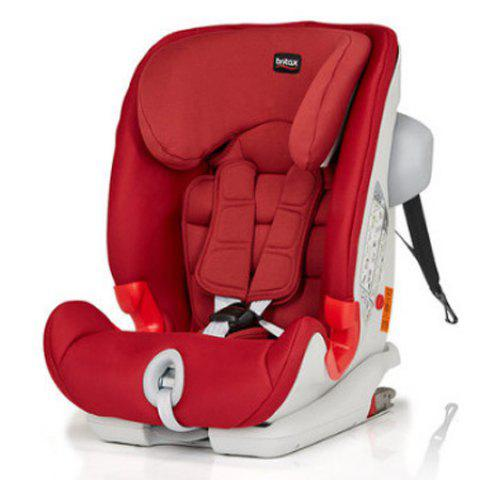 Baby Child Safety Seat Car with Isofix for 9 Months to 12 Years Old - RED