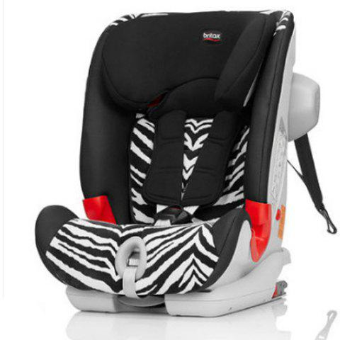 Baby Child Safety Seat Car with Isofix for 9 Months to 12 Years Old - LEOPARD
