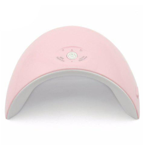 MH0209 Portable 36W Induction Nail Phototherapy Machine - PINK NAIL LIGHT + USB CABLE (WITHOUT PLUG)