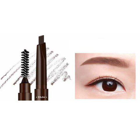 DNM makeup034 Crayon Sourcils Automatique Double Tête - Rouge Sang