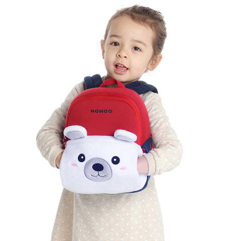 NOHOO NHQ005 / 06 / 07 Polar Bear Elk Warm and Cold Backpack - multicolor A S