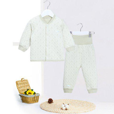 Mint Cotton MC3006 Fashionable Comfortable Baby Sets - MINT GREEN 2~3YEARS