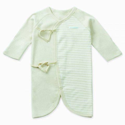 Mint Cotton MC5001 Fashionable Comfortable Baby Bodysuit - PINE GREEN 1~3MONTHS