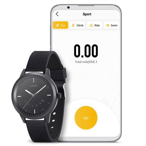Lenovo Watch 9 Bluetooth 5.0 Smartwatch Fitness Tracker Support iOS and Android - BLACK