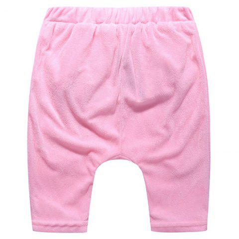 ET0180 Cartoon Plush Big Butt Baby Pants - PINK 18 - 24 MONTHS