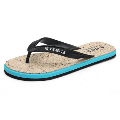 c4022cefc252 2019 Refreshing Outdoor Flip Flops Slippers In BLUE EU 43 ...