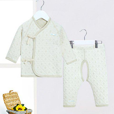 Mint Cotton MC3008 Newborn Baby Warm Strap Set - MINT GREEN 3 - 6 MONTHS