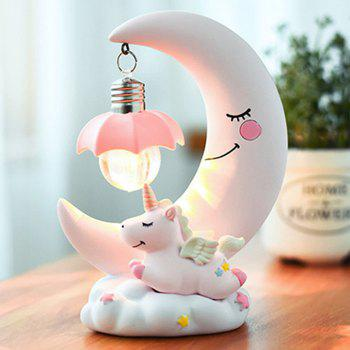 Creative Unicorn Moon Fantasy Night Light