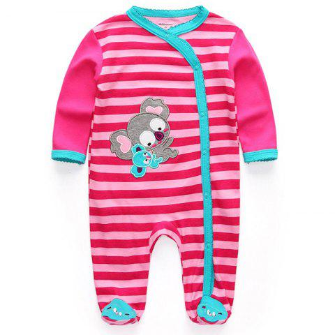 KIDDIEZOOM Fashion Clothing Baby Romper - multicolor C 0 - 3 MONTHS