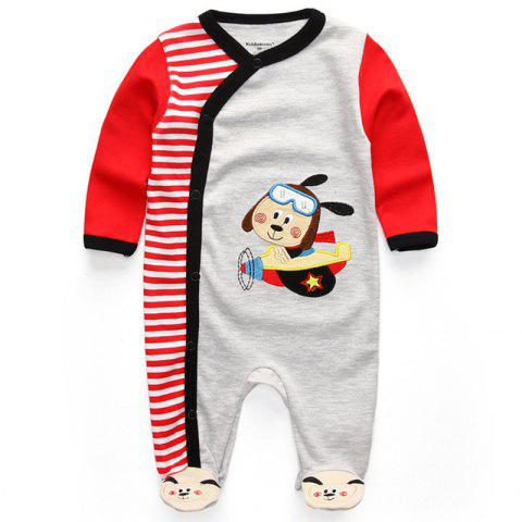 KIDDIEZOOM Fashion Clothing Baby Romper - multicolor B 0 - 3 MONTHS
