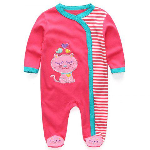 KIDDIEZOOM Fashion Clothing Baby Romper - multicolor A 0 - 3 MONTHS