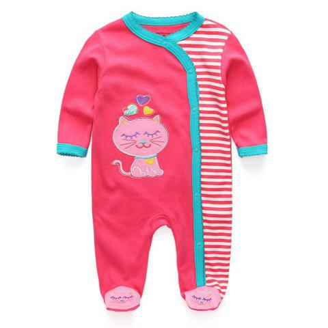 KIDDIEZOOM Fashion Clothing Baby Romper - multicolor A 9 - 12 MONTHS