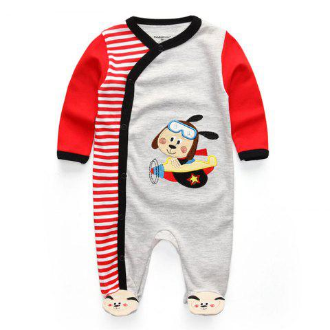 KIDDIEZOOM Fashion Clothing Baby Romper - multicolor B 9 - 12 MONTHS