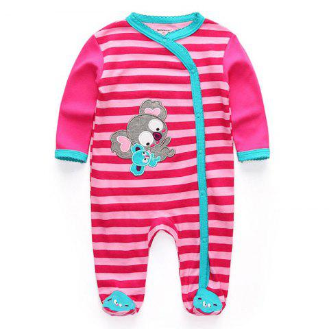 KIDDIEZOOM Fashion Clothing Baby Romper - multicolor C 9 - 12 MONTHS