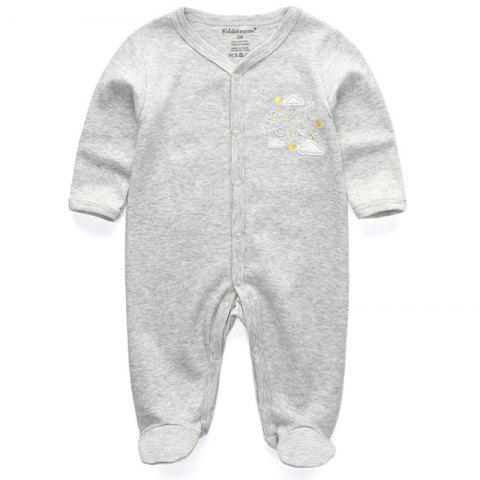 KIDDIEZOOM Fashion Clothing Baby Romper - multicolor E 0 - 3 MONTHS