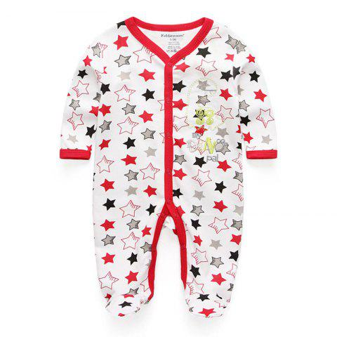 KIDDIEZOOM Fashion Clothing Baby Romper - multicolor D 9 - 12 MONTHS
