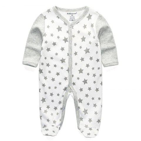 KIDDIEZOOM Fashion Clothing Baby Romper - multicolor F 6 - 9 MONTHS