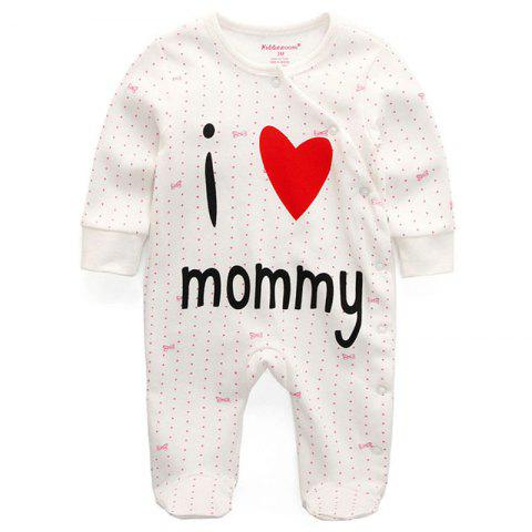 KIDDIEZOOM Fashion Clothing Baby Romper - multicolor H 3 - 6 MONTHS