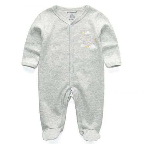 KIDDIEZOOM Fashion Clothing Baby Romper - multicolor E 3 - 6 MONTHS