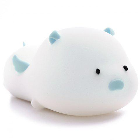 Stay Cute Pig Pat Silicone Night Light
