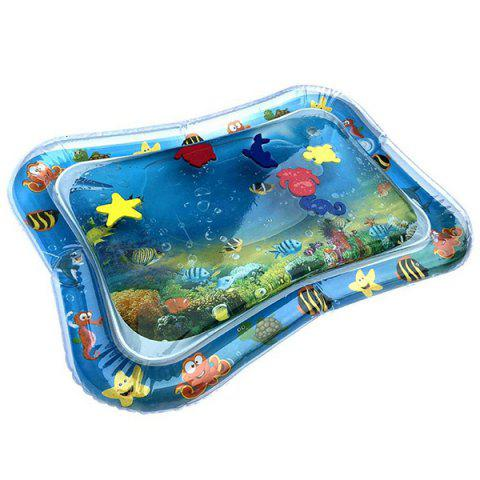 Inflatable Tummy Time Premium Water Mat for Infants Toddlers Perfect Play Activity Center Your Baby's Stimulation Growth - multicolor A