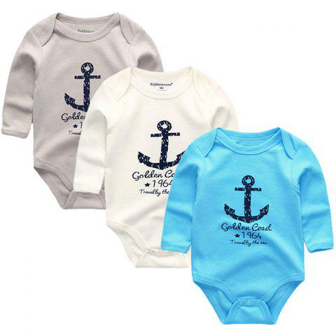 KIDDIEZOOM Clothing Newborn Baby Boy Girl Jumpsuit - multicolor A 6 - 9 MONTHS