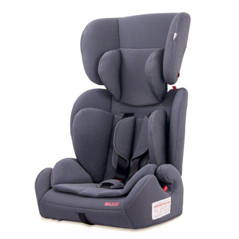 BC702F Growth Type Infant Safety Seat with Child Lock - GRAY