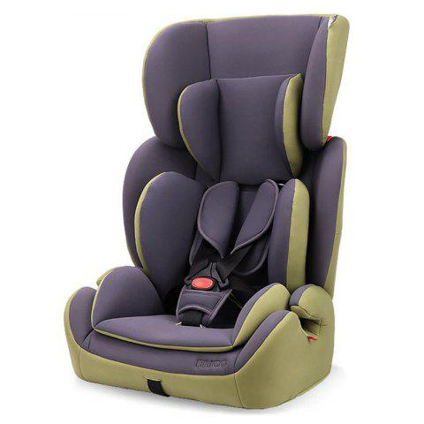 BC702F Growth Type Infant Safety Seat with Child Lock - AVOCADO GREEN