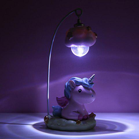 Veilleuse Craft Unicorn Resin - Rose