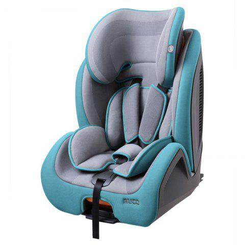 BIUCO BC788F Growth Type Child Lock Safety Seat - MACAW BLUE GREEN
