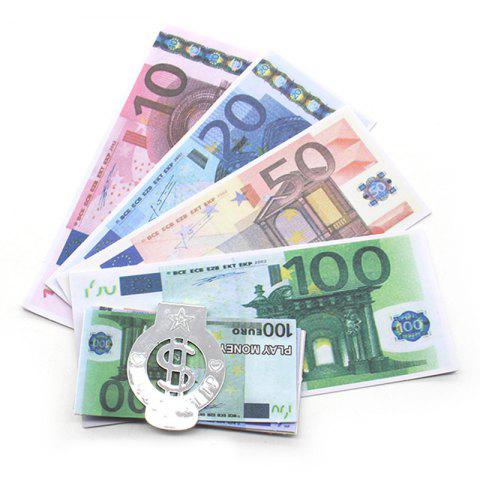 Euro Banknote Toy for Kids - multicolor A