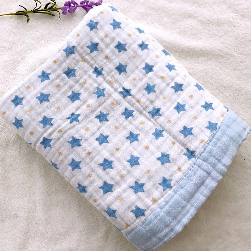 Image of 115 X 115 Eight Layers Baby Washed Gauze Wrap Towel