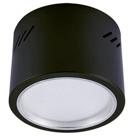 Spot encastrable LED 9W - Noir 5700K-6500K