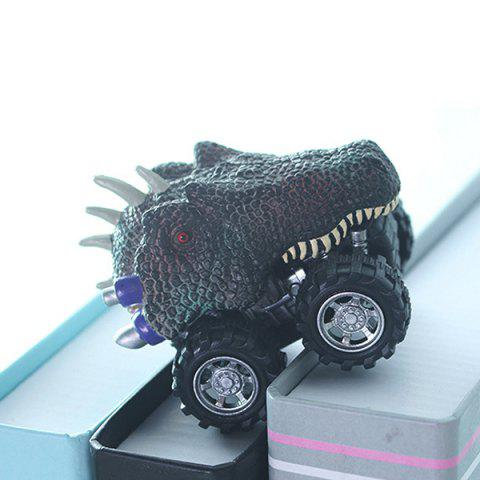 Toy Dinosaur Model Pull Back Car - multicolor A ALLOSAURUS