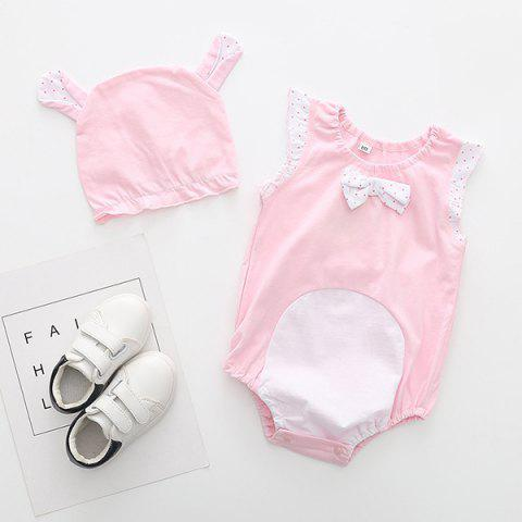 Soft Material / Breathable Wearing Fruit Styling Baby Romper - PIG PINK 6-12MONTH(90)