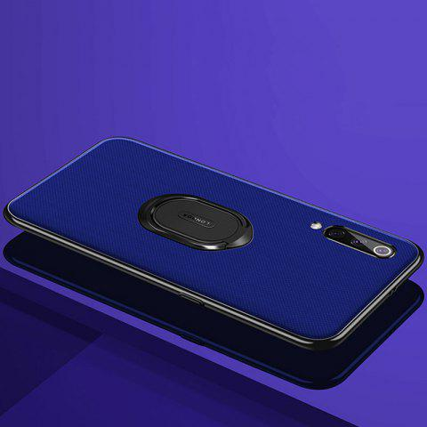 leeHUR Ultra-thin Ring Stand Magnetic Phone Case Protective Back Cover for Xiaomi Mi 9 - COBALT BLUE