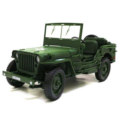 685006 1:18 Chariot Off-road Vehicle Alloy Car Model Gift - ARMY GREEN