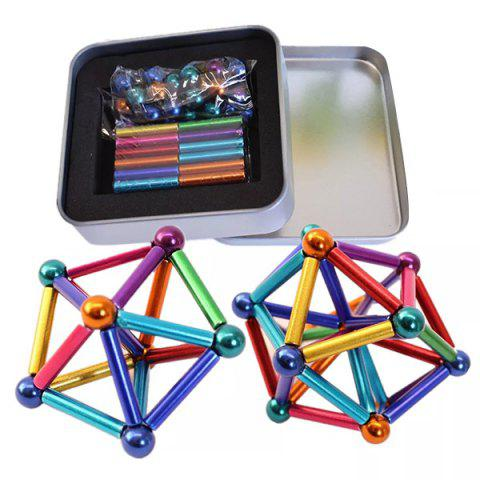 Magnet Buck Ball Multi-color Bar Intelligent Stress Reliever Kit - multicolor