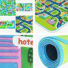 Educational 1.6m Damp-proof Baby Pad for Game / Camping - GREEN