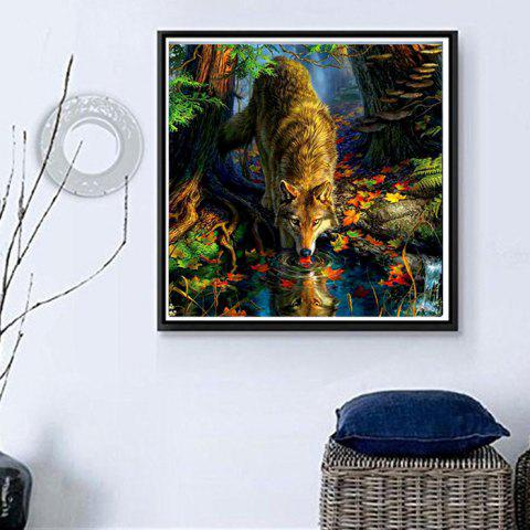 Z532 DIY Diamond Painting 5D Three-dimensional Painted for Children's Bedroom Decoration - YELLOW