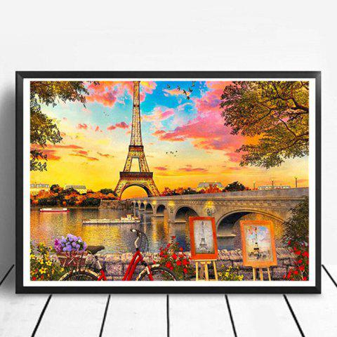 DIY Diamond Painting 5D Three-dimensional Painted for Children's Bedroom Decoration - SUN YELLOW