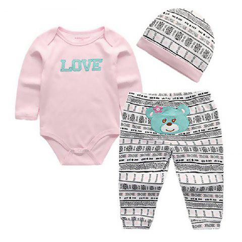KIDDIEZOOM CSL3109 - CSL3111 Fashion Baby Clothes Set - multicolor C 3 - 6 MONTHS