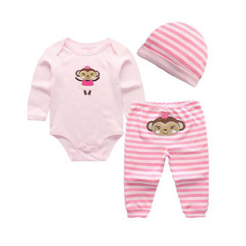 KIDDIEZOOM CSL3109 - CSL3111 Fashion Baby Clothes Set - multicolor A 9 - 12 MONTHS