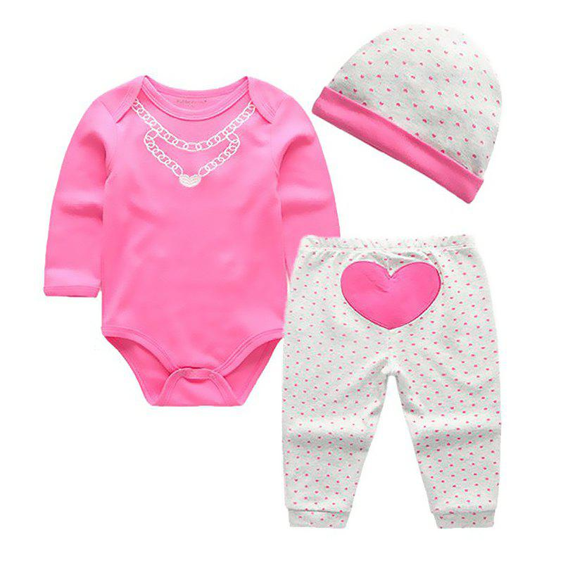 KIDDIEZOOM CSL3109 - CSL3111 Fashion Baby Clothes Set - multicolor B 9 - 12 MONTHS
